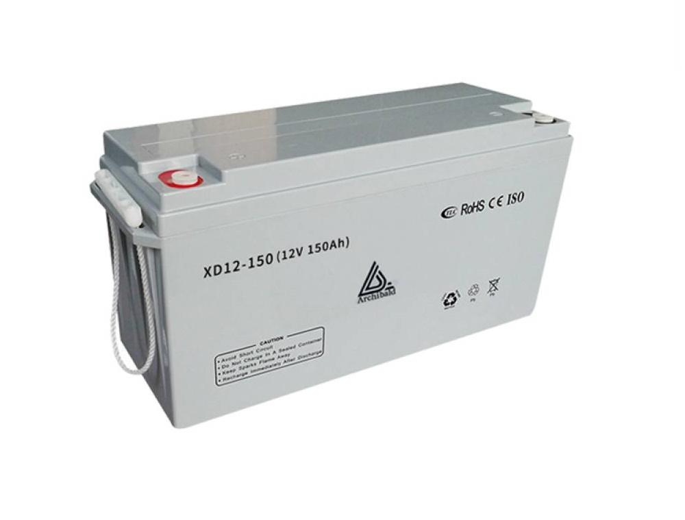 150AH 12V Solar Deep Cycle Gel Battery