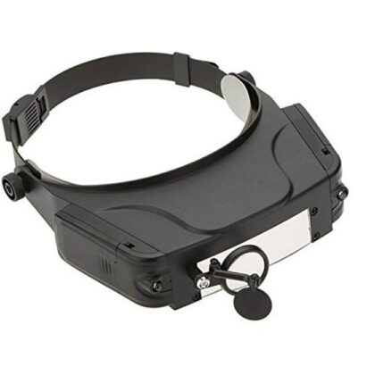 Headband Magnifier with led lights